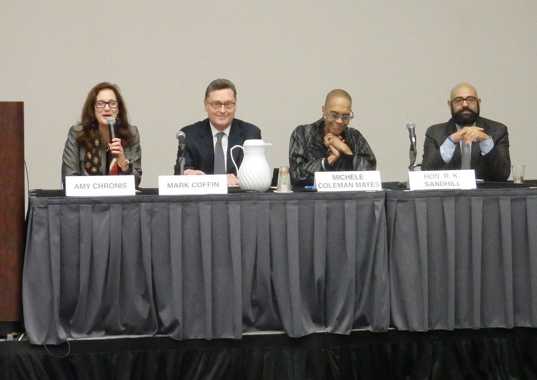 Men Joining Women For Change Panel