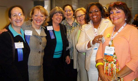 Former NCWBA Board Members, August 2007 celebration