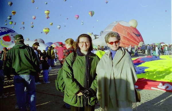 Carole Aciman and Leslie Altman in Albuquerque